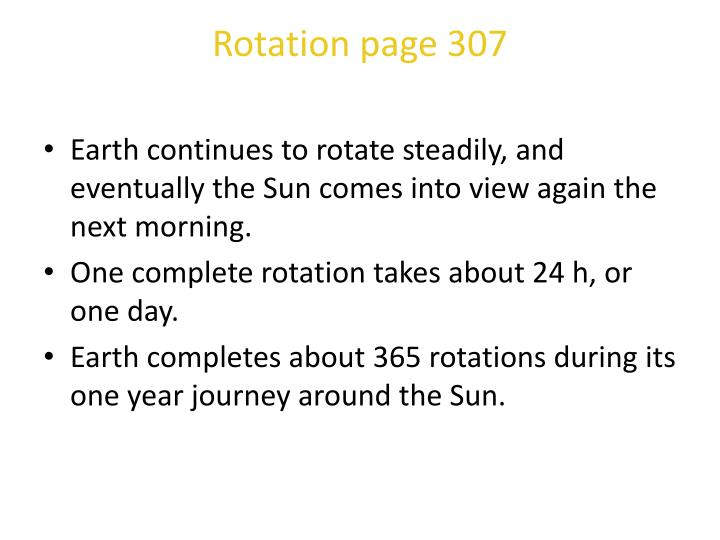 Rotation page 307