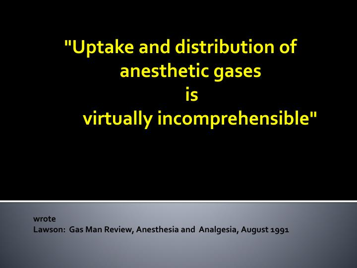 """Uptake and distribution of"