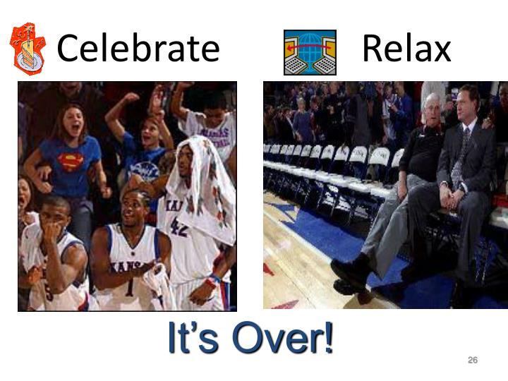 Celebrate Relax