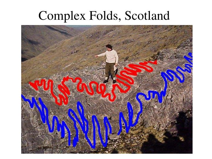 Complex Folds, Scotland