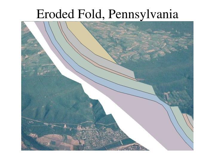Eroded Fold, Pennsylvania