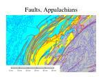 faults appalachians