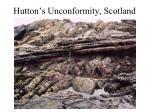 hutton s unconformity scotland