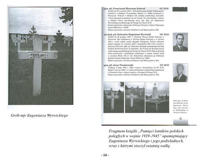 Grób mjr Eugeniusza Wyrwickiego