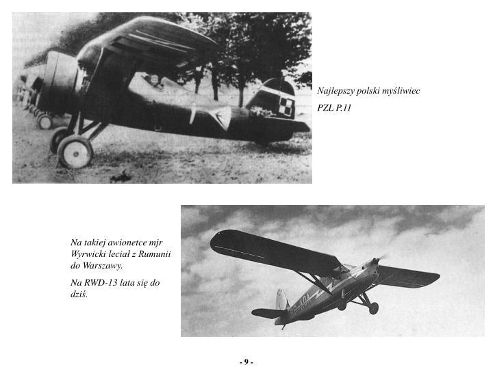 Najlepszy polski myśliwiec