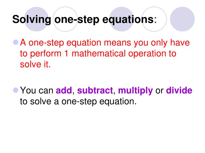how to solve one step equations with fractions and variables