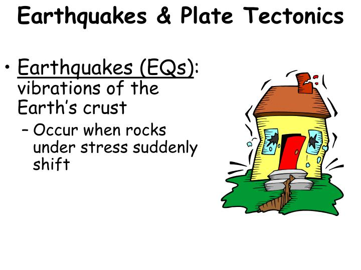 Earthquakes & Plate Tectonics