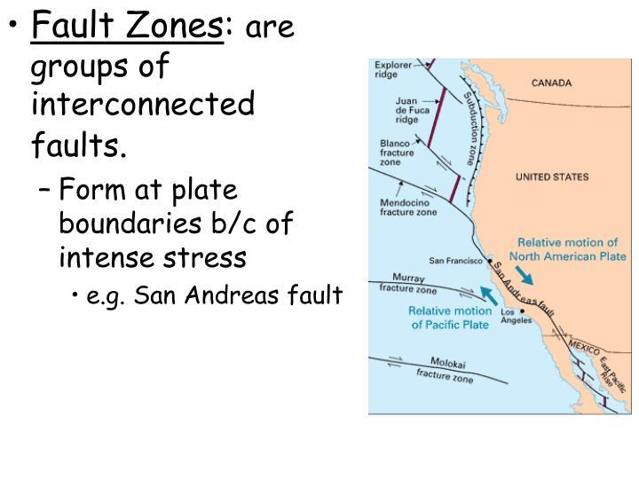 Fault Zones
