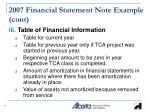 2007 financial statement note example cont1