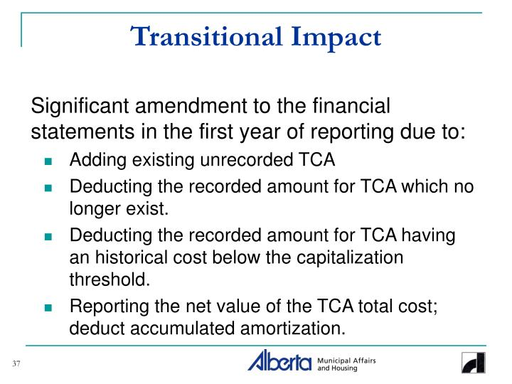 Transitional Impact