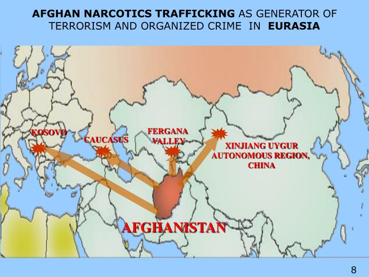AFGHAN NARCOTICS TRAFFICKING