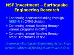 nsf investment earthquake engineering research3