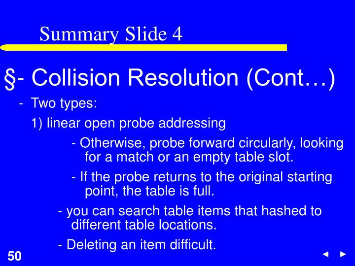 Summary Slide 4