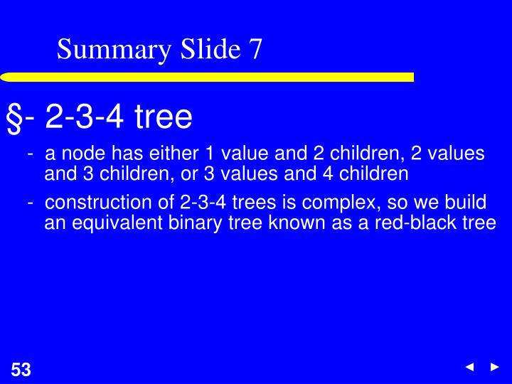 Summary Slide 7