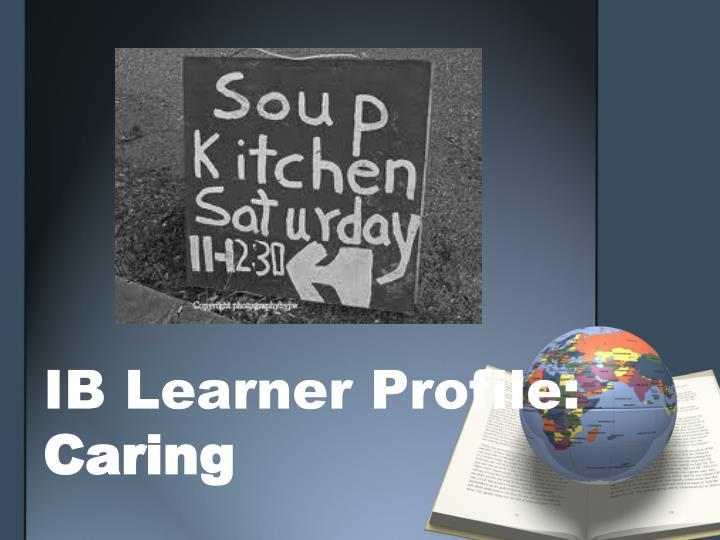 IB Learner Profile: