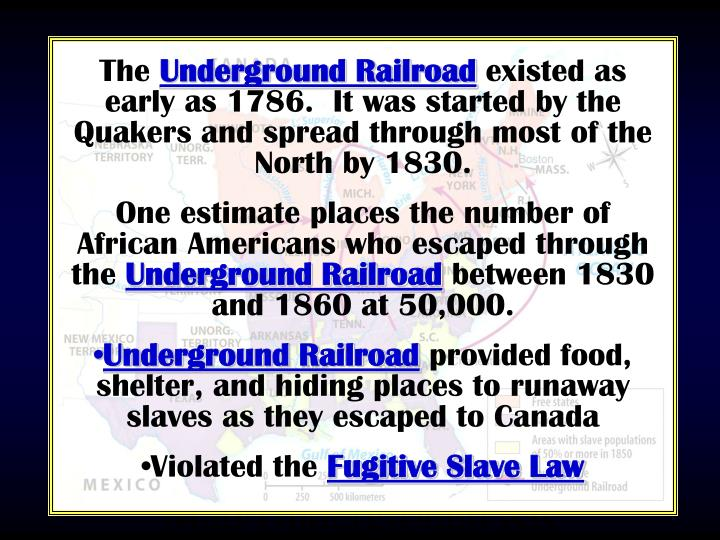 Map/Underground RR