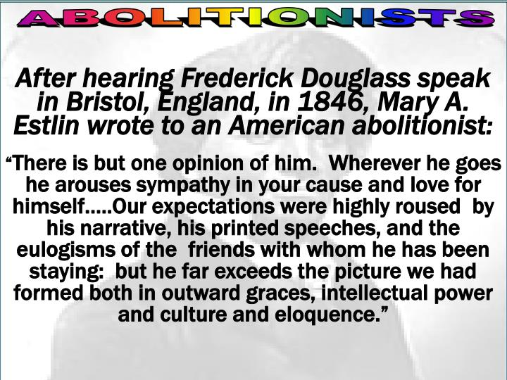 Reading/On Douglass