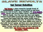 slave revolts turner