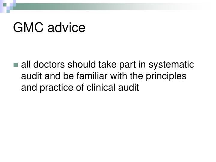GMC advice