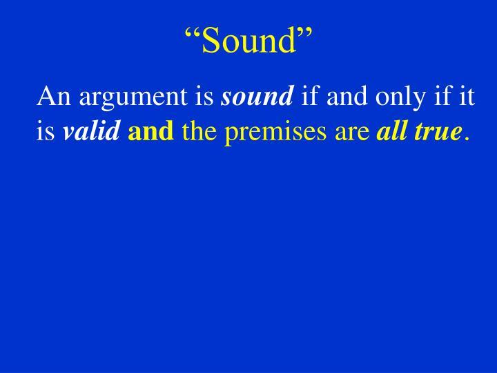"""""""Sound"""""""