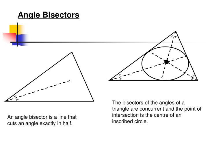 Angle Bisectors
