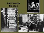 anti jewish signage