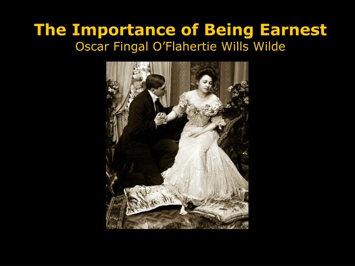 "the importance of being earnest essay conclusion This accessible literary criticism is perfect for anyone faced with the importance of being earnest essays, papers the importance of not being ""earnest."