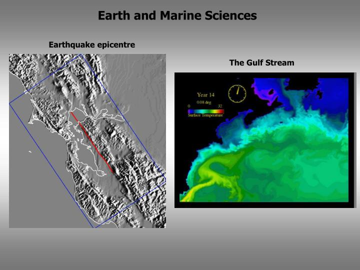 Earth and Marine Sciences