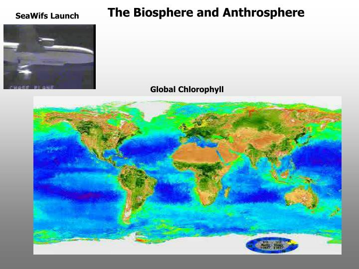 The Biosphere and Anthrosphere