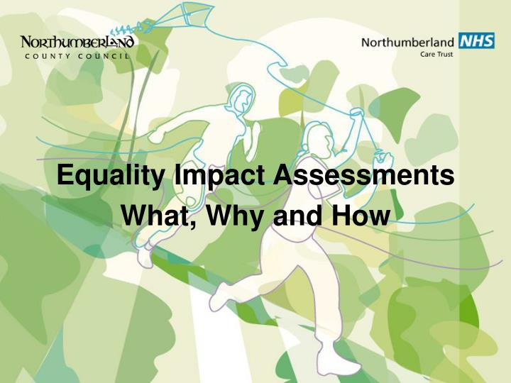 Equality Impact Assessments