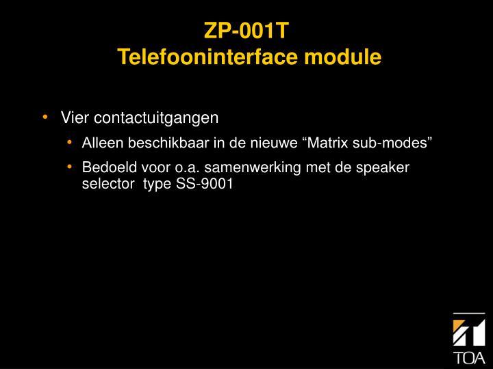 ZP-001T