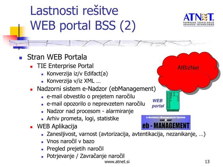 Stran WEB Portala