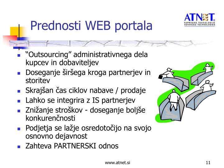 """""""Outsourcing"""" administrativnega dela kupcev in dobaviteljev"""