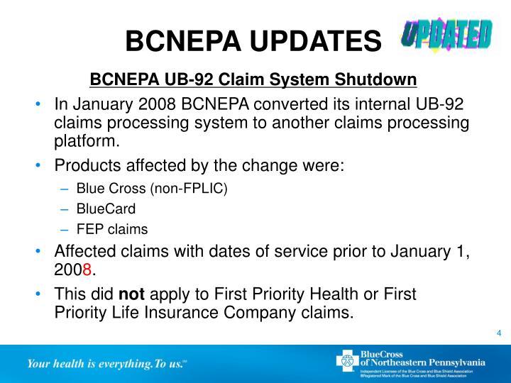 BCNEPA UPDATES