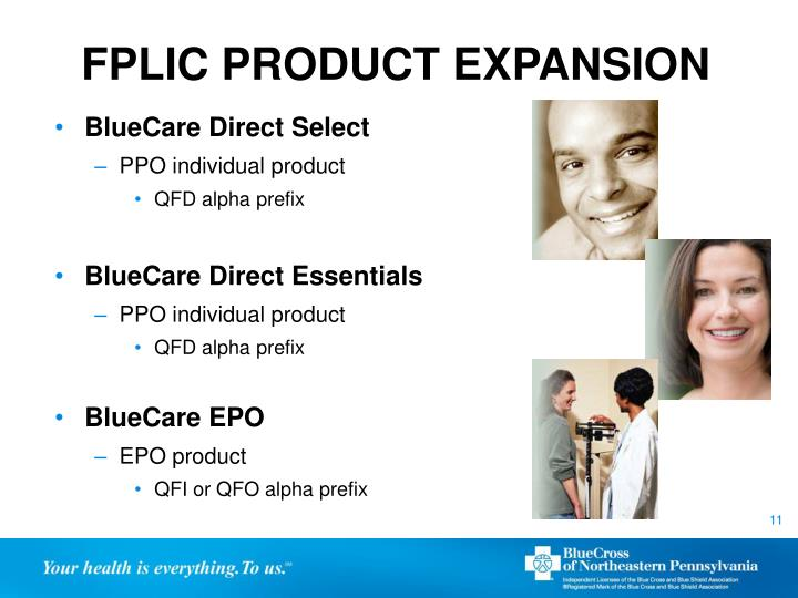 FPLIC PRODUCT EXPANSION