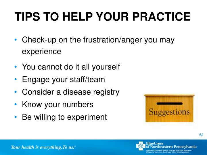 TIPS TO HELP YOUR PRACTICE