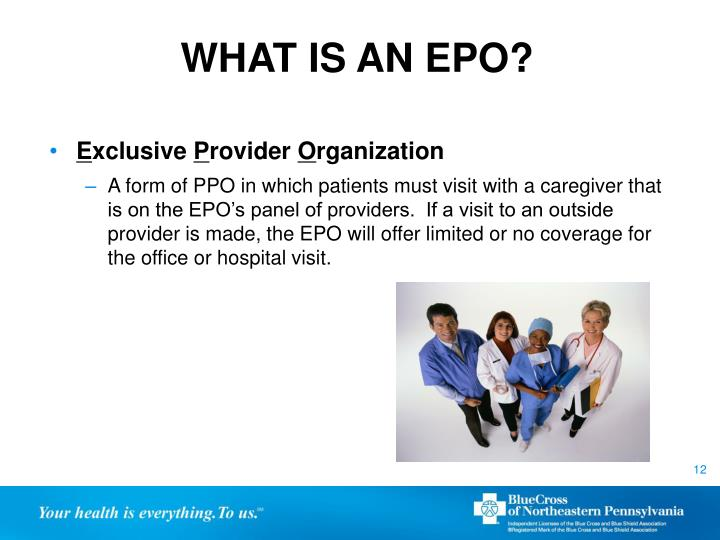 WHAT IS AN EPO?