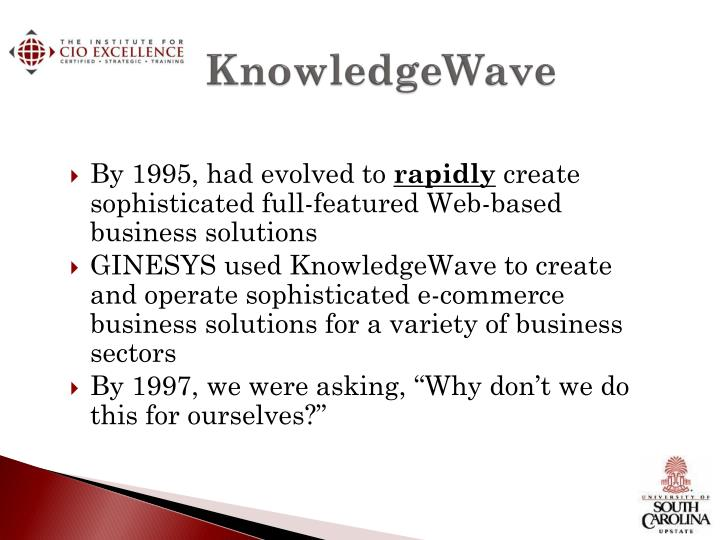 KnowledgeWave
