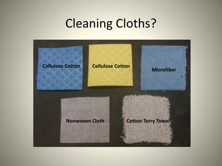 Cleaning Cloths?
