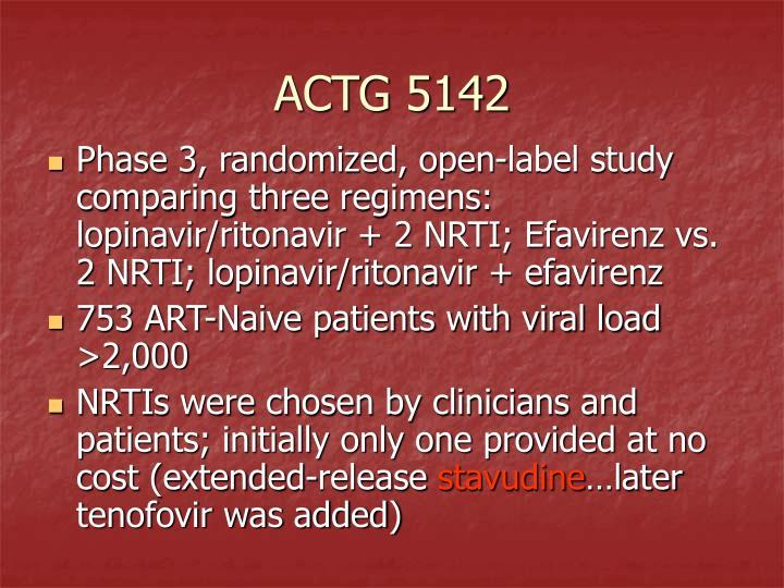 ACTG 5142