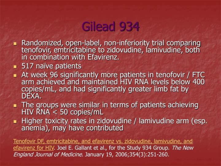 Gilead 934