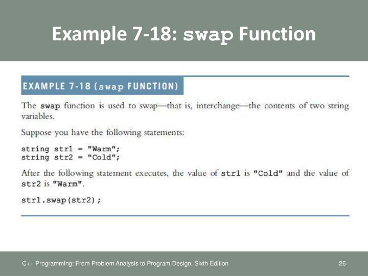 Example 7-18: