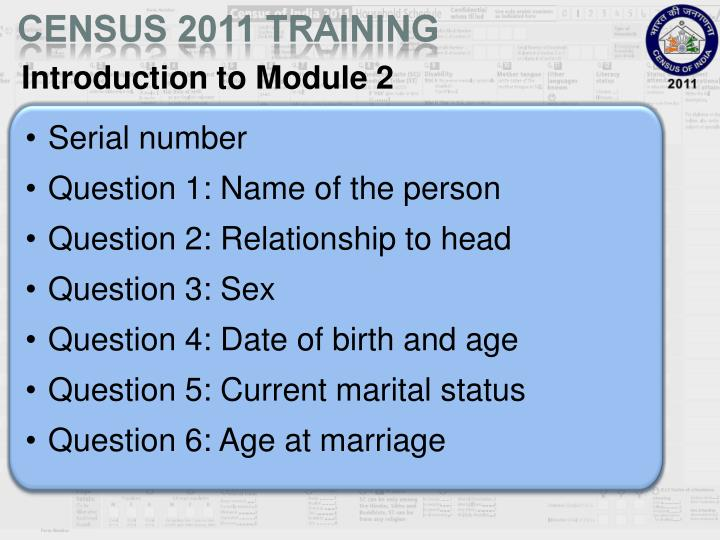 Introduction to Module 2