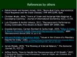 references by others