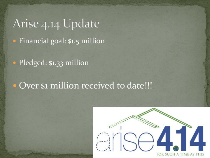 Arise 4.14 Update