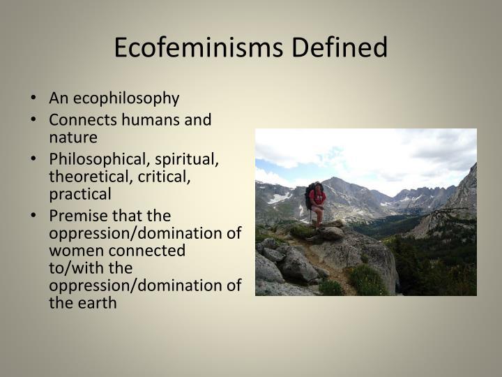 Ecofeminisms