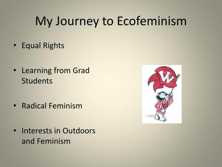 My journey to ecofeminism