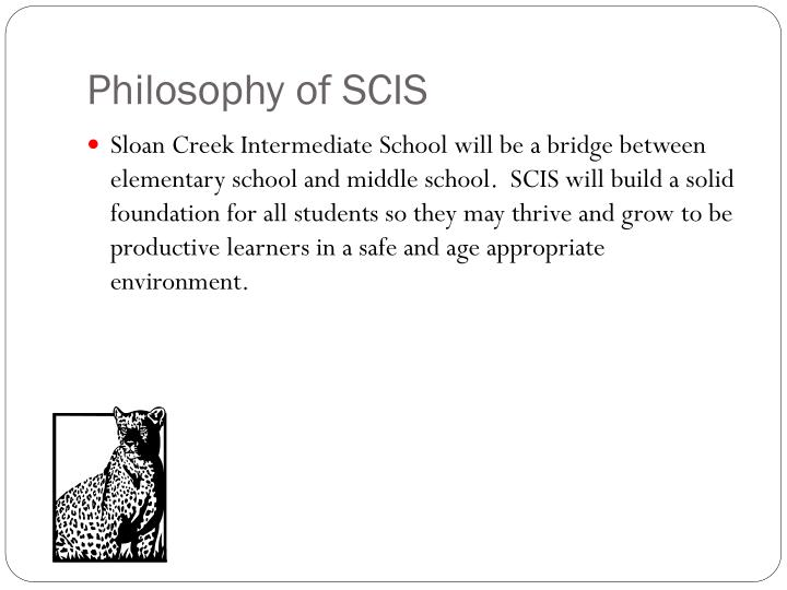 Philosophy of scis
