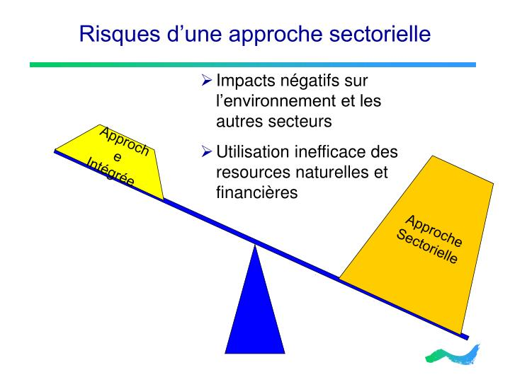 Risques d'une approche sectorielle