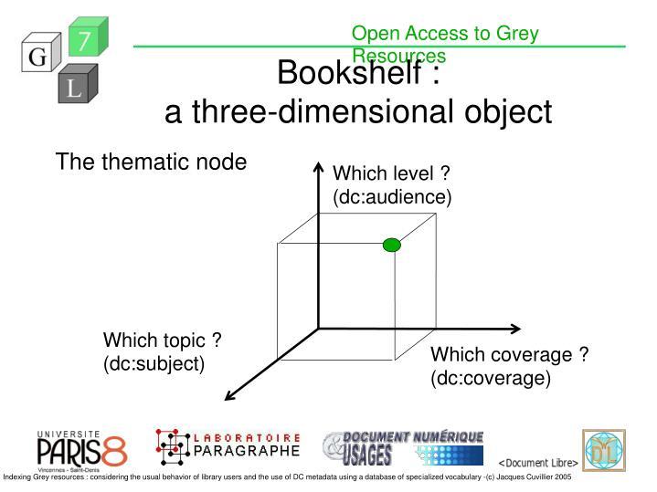 Bookshelf :